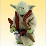 Star Wars vintage Yoda Jumbo : Gentle Giant en rupture de stock
