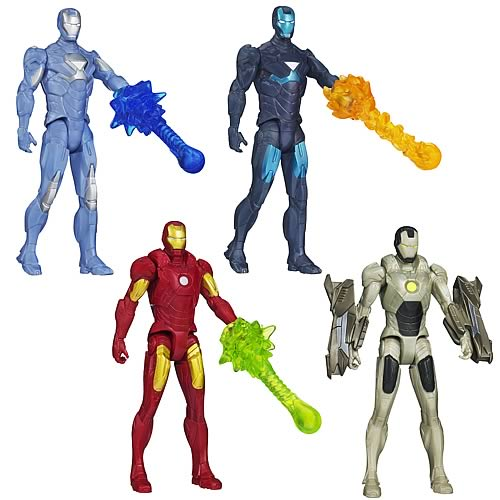 Hasbro Iron Man 3 All Stars Action Figures