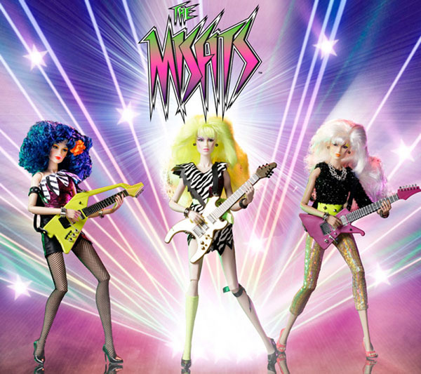 Misfits jem and the holograms hasbro integrity toys