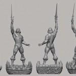 Du nouveau pour la statue de He-Man par Pop Culture Shock