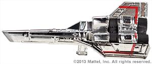 SDCC Hot Wheels Battlestar Galactica Colonial Viper 01