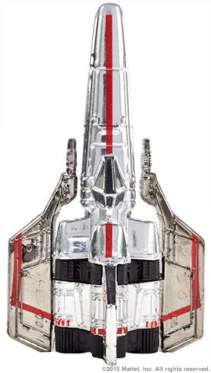 SDCC Hot Wheels Battlestar Galactica Colonial Viper 05