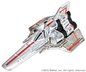 SDCC Hot Wheels Battlestar Galactica Colonial Viper 06