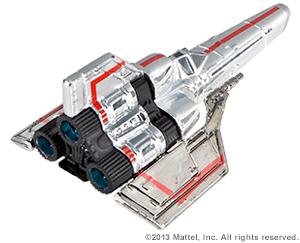 SDCC Hot Wheels Battlestar Galactica Colonial Viper 07