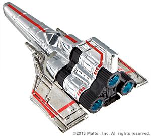 SDCC Hot Wheels Battlestar Galactica Colonial Viper 08