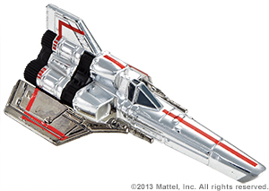 SDCC Hot Wheels Battlestar Galactica Colonial Viper 09