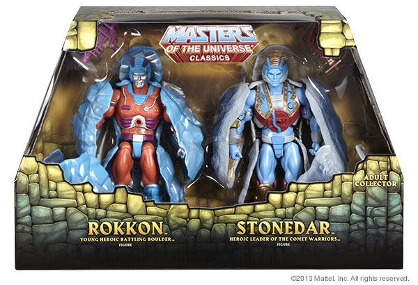 Masters of the Universe Classics Rokkon et Stonedar  2-Pack mattel