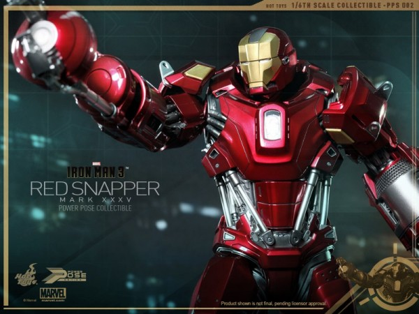 hot toys iron man 3 red snapper mk35  9