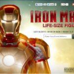Iron Man taille réelle par Sideshow