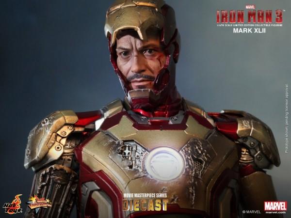iron man hot toys mk xlii 11
