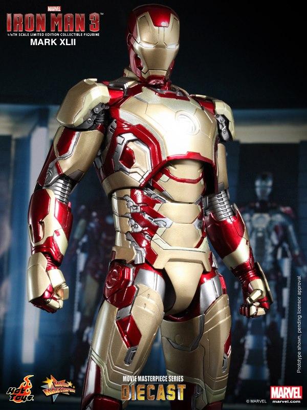 iron man hot toys mk xlii 4