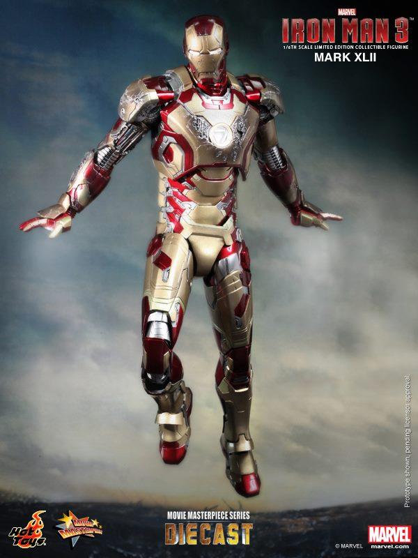 iron man hot toys mk xlii 6
