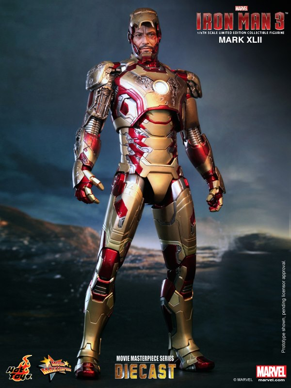 iron man hot toys mk xlii 7