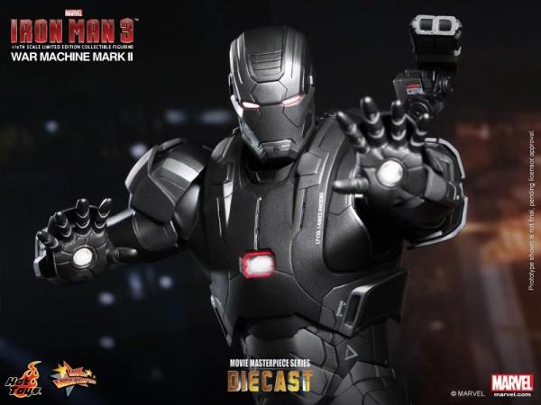 iron man hot toys war wachine mk II 10