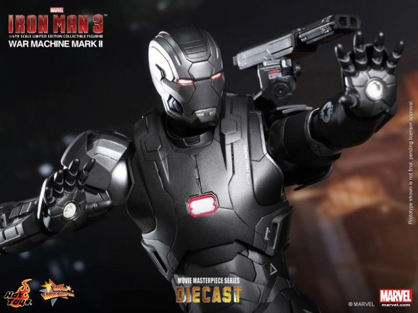 iron man hot toys war wachine mk II 12