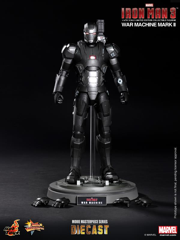 iron man hot toys war wachine mk II 13