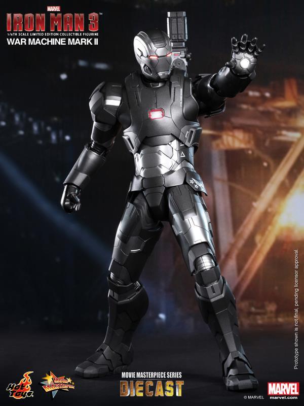 iron man hot toys war wachine mk II 2