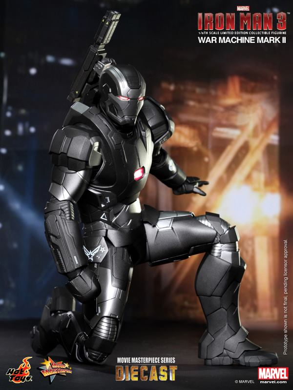 iron man hot toys war wachine mk II 7