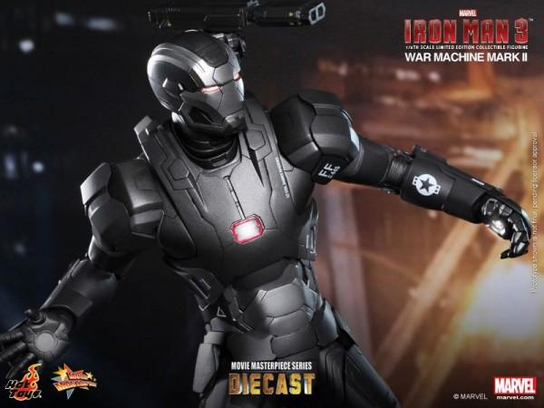 iron man hot toys war wachine mk II 9