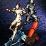 Iron Man 3 : War Machine et Iron Man Mk 42 par Koto