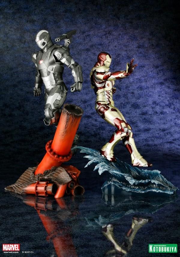 koto iron man & war machine artfx 8