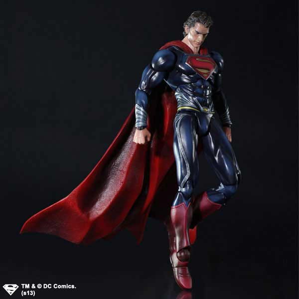 man of steel Play arts Kai