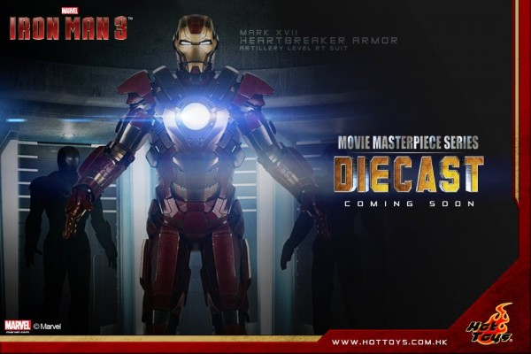 "Hot Toys Iron Man Mk 17 Heartbreaker (12"")"