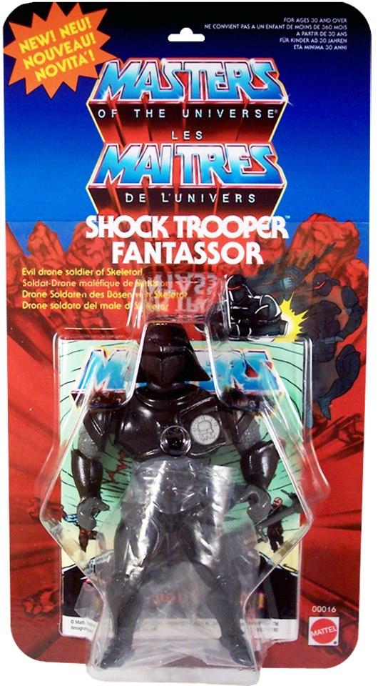 SHOCK TROOPER / FANTASSOR - Soldat Drone Maléfique de Skeletor!