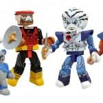 Thundercats, les Minimates en préco