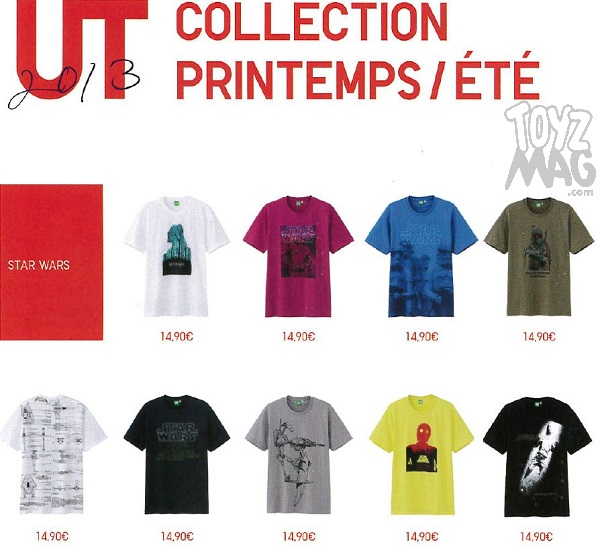 uniqlo collection printemps ete star wars toyzmag