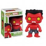 Red Hulk en Pop Vinyl par Funko