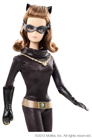 Catwoman Barbie mattel mattycollector (2)