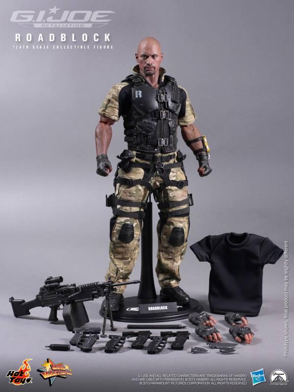 G.I. Joe Retaliation 16th scale Roadblock Collectible Figure Hot Toys (12)