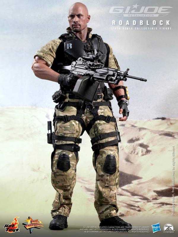 G.I. Joe Retaliation 16th scale Roadblock Collectible Figure Hot Toys (15)