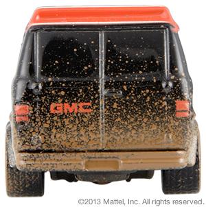 Hot Wheels A-Team Custom GMC Panel Van