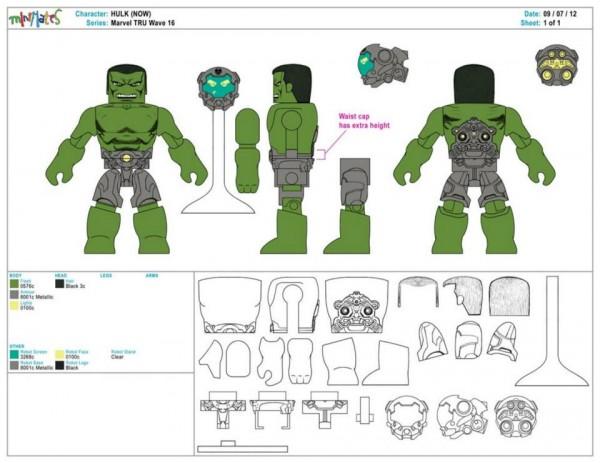 Marvel Minimates Series TRU 16 12