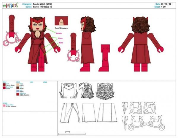 Marvel Minimates Series TRU 16 9