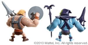 Masters of the Universe Classics Mini He-Man Skeletor Figures