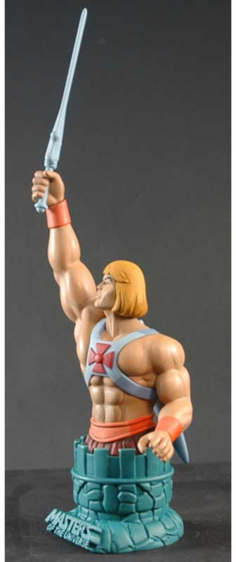 Masters of the Universe Filmation He Man Mini Bust Paperweight Icon Heroes