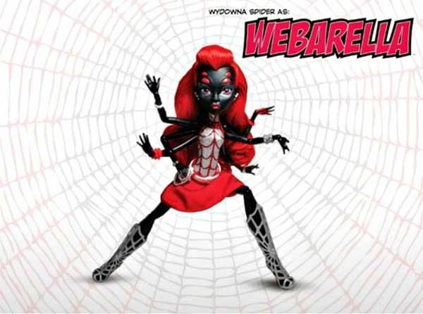 Monster High Webarella exclue sdcc2013