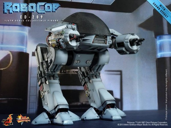RoboCop 16th scale ED-209 Collectible (05)