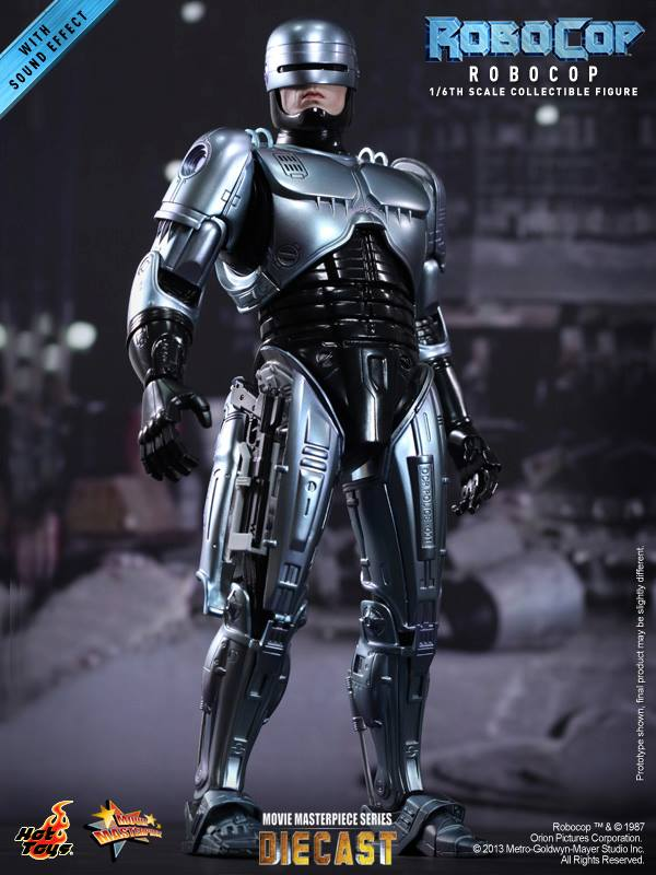 RoboCop 16th scale RoboCop Collectible Figure HOT TOYS (01)