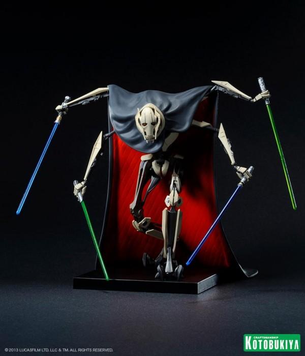Star Wars General Grievous ARTFX+ Statue kotobukiya