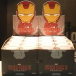 Iron Man 3 Cosbaby : le display box de magasin