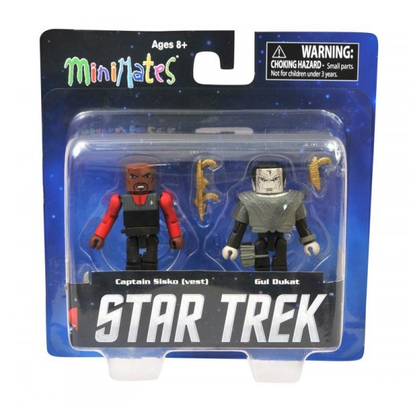 dst minimates star trek Sisko (vest) and Gul Dukat (Deep Space Nine) Toys R Us Exclusive