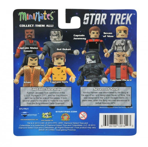 dst minimates star trek series 1 toys r us exclusive
