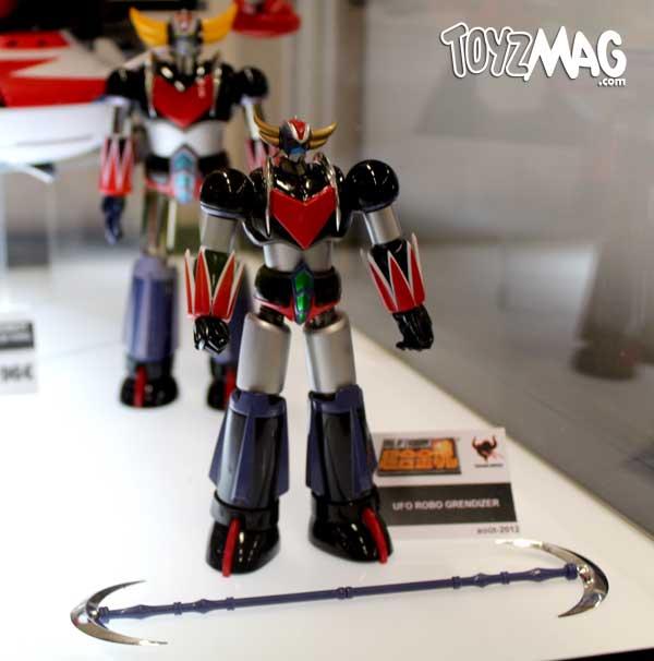 geekopolis Tamashi naton Grendizer super robot goldorak
