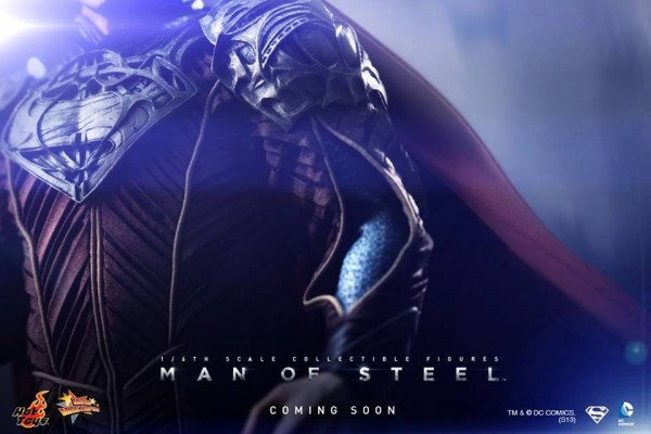 HOT TOYS Man Of Steel teaser