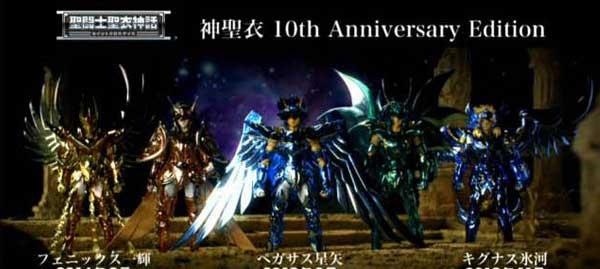 Saint Seiya GOD Bronze Cloth-10th Anniversary