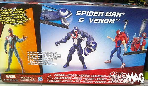 spider-man 3pack exclue carrefour HASBRO